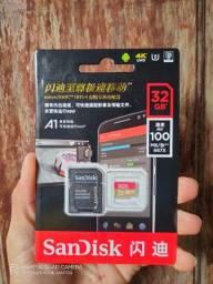 Cartão de memória SanDisk EXTREME 32gb ORIGINAL