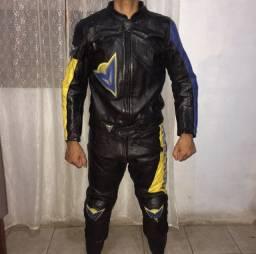 Macacão de motociclista