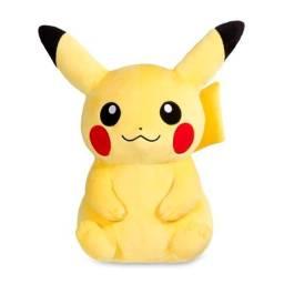 Boneco De Pelúcia Pikachu Pokemon Center Go 20cm