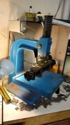 máquina de impressão hot stamping + tipos + gavetas