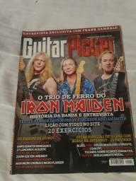 Revista Guitar Player Iron Maiden