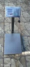 Balança digital de plataforma 400 kg com bateria interna