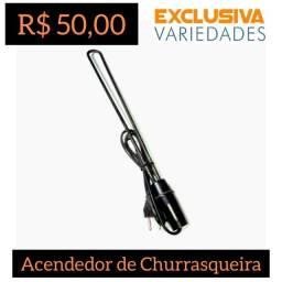 Acendedor Elétrico de Churrasqueira 220V