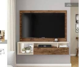 Painel Black comporta TV até 55 polegadas - material MDP // NOVO