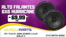 Título do anúncio: Alto Falantes 6x6 Hurricane PAR