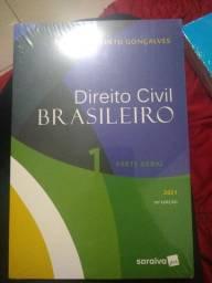 Livro de Direito Civil Brasileiro- Carlos Alberto Gonçalves Parte Geral V.1