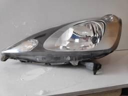Título do anúncio: Farol Honda New Fit 2009 2010 2011 2012 LE Máscara Negra Original