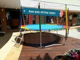 Locação cama elastica R$ 40,00 -  locação minima 3 dias