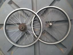 Título do anúncio: Rodas de bicicleta aro 24