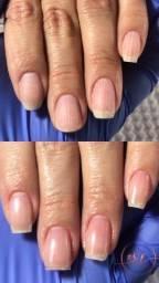 Blindagem de cálcio em unhas naturais