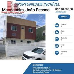Título do anúncio: Apartamento para Venda em João Pessoa, Mangabeira, 2 dormitórios, 1 suíte, 1 banheiro, 1 v