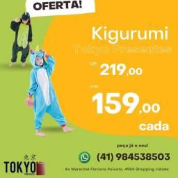 Título do anúncio: Pijama kigurumi personagens
