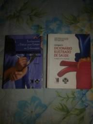 Vendo livros de enfermagem