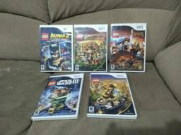 Lote jogos lego Nintendo Wii original