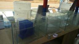 Caixa de vidro