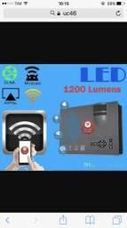 Mini projetor Wi-Fi e miracast 1200 lumens uc46. Apenas Zap. Leia a descrição!