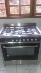 Fogão Elettromec de piso 5 bocas forno eletrico