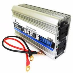 Inversor Tensão Veicular Senoidal Modificada 12v 110v 3000w (NOVO)