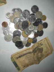 Vendo ou troco moedas e notas antigas