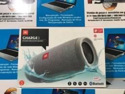 Caixa De Som Jbl Charge 3 Bluetooth Cor Cinza Original Lacrada