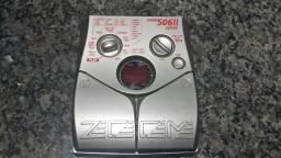 Pedaleira zoom 506ll bass