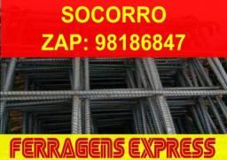 Sapata, Aranhas, Radier 3/8 Ferragens Prontas