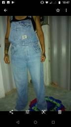 Desapego Macacão Jeans