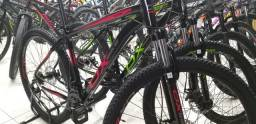 Bicicleta ox aro 29 freios a disco cambio shimano