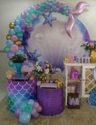 Festa infantil para seu bebê alugo esses móveis