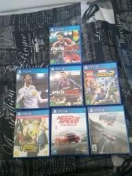 Combo jogos PS4