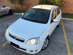 Corsa sedan premium 1.4 completo 2008 , sem entrada - 2008