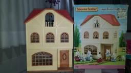 Casinha Sylvanian Family três histórias