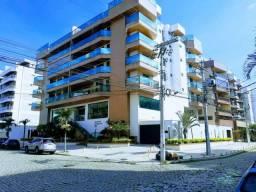 Apartamento Amplo Cabo Frio,4 Quartos,sala 2 amb ampla, piscina, área Gourmet, 2 gar