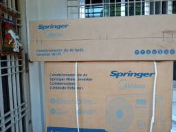 Split inverter  midea 18.000 btu na caixa com nf
