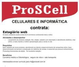 Contrata-se Estagiário Web