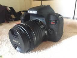 Câmera Canon T7i + Kit vídeo Maker e  fotografia