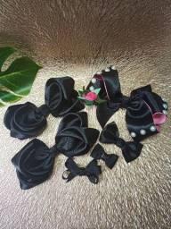 Coleção laços Black ** tudo que está na foto**