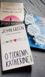 Livros Novos de John Green e Jojo Moyes