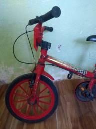 Bicicleta aro 16 infantil carros