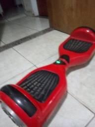 Hoverboard 6,5 vermelho com luz de led