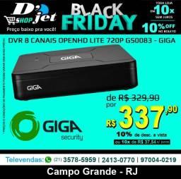 Dvr 8 Canais OpenHd Lite 720p Gs0083 - Giga