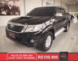 Toyota Hilux CD SRV D4-D 4x4 3.0 TDI Diesel Aut 2014 Diesel