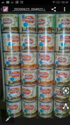Vendo latas de mucilon vazias
