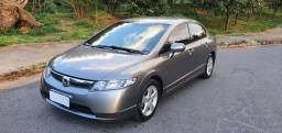 Honda New Civic LXS 1.8 Automático GASoLINA 2007 Raridade