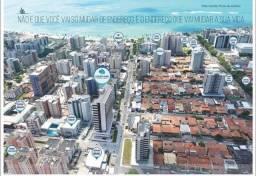 Apartamento na Jatiuca, Quarto e Sala com Varanda, a 350m da praia