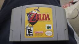 N64 Zelda Ocarina of Time Relabel