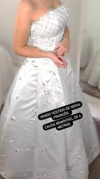Vestido de noiva Francês
