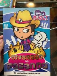Livro infantil Diversão na fazenda