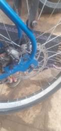 Bicicleta resem montada (leia a descrição)