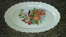 Bandeja fruteira de centro de mesa feita de melamine importada da Turquia